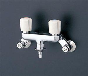 2ハンドル型洗濯機用水栓金具