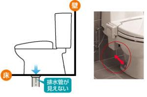 トイレの排水芯