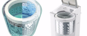 洗濯槽の汚れ