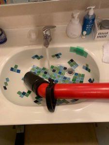 洗面詰まり