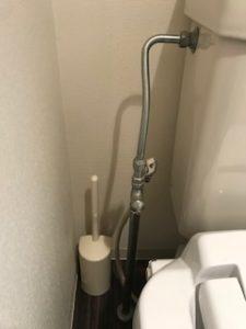給水管、止水栓の修理