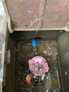 水道メーター水漏れ