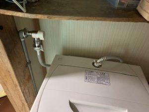 洗濯蛇口の交換