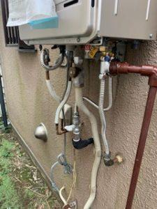 給湯器の配管