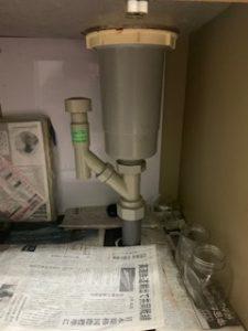 シンク下の排水栓