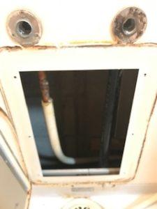 浴室蛇口の配管