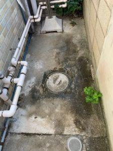 汚水桝の詰まり