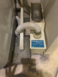 洗濯機のチャンバー